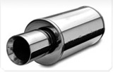 muffler with tips